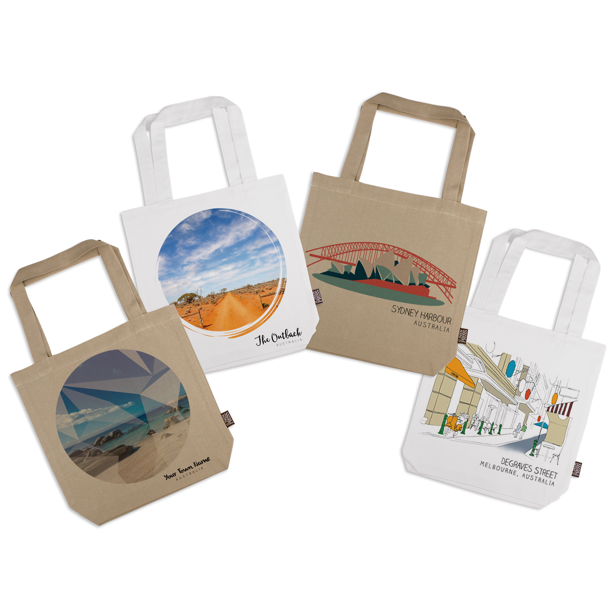 Landscapes - Australian - Tote Bag