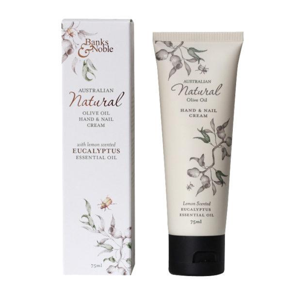 Natural Olive Oil & Eucalyptus Hand Cream 75ml